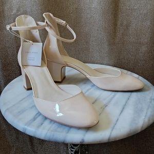 Zara Mary Jane heel, size 39, USA 8M